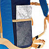 Рюкзак туристический синий для спорта и города на 20 литров, фото 7