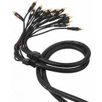 Proel DH 800 кабель 8 x RCA - 8 x RCA