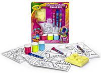 Тролли набор для творчества Trolls Deluxe, Crayola, фото 1