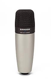 Samson C01 студийный конденсаторный микрофон, кардиоидный