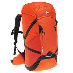 Рюкзак туристический легкий Forclaz Air 40 литров оранжевый