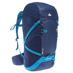 Рюкзак туристический легкий Forclaz Air 40 литров темно-синий