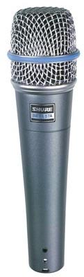 Shure Beta 57A инструментальный микрофон, суперкардиоидный
