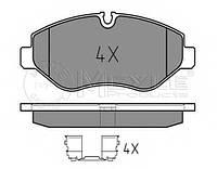 Колодки тормозные передние 30-35 Volkswagen Сrafter 2006- / Sprinter 06- Meyle