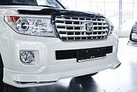 Спойлерной комплект Toyota OE белый Land Cruiser 200 12+
