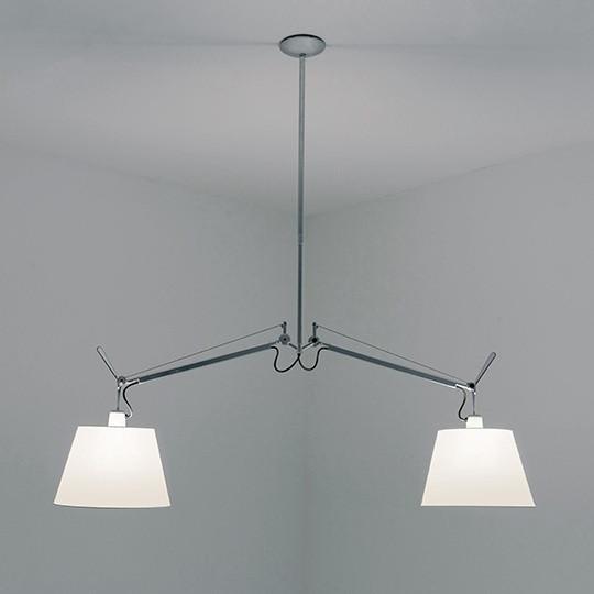 Artemide Tolomeo Suspension (suspension lamp / подвесной светильник / люстра)