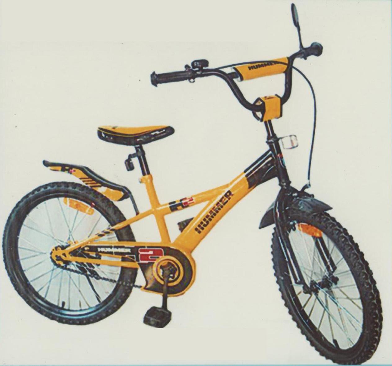 """Велосипед дитячий зростання від 120 см двоколісний Hammer """"20"""""""