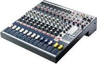 Soundcraft EFX8 микшерный пульт, 8 моно + 2 стерео канала