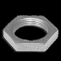Контргайки стальные оцинкованные Ду50
