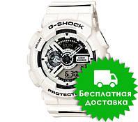 Часы Casio G-Shock GA-110 White BLACK