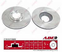 ABEC3G027ABE Тормозной диск