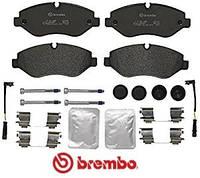 Колодки тормозные передние 30-35/30-50 Volkswagen Сrafter 2006- / Sprinter 06- Brembo