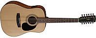 Акустическая 12-стр. гитара с датчиком Cort AD810-12E NaturalSatin, фото 1