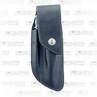 Чехол Opinel Leather Classic M (001414) с точилкой для ножей опинель