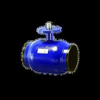 Кран шаровой, неполнопроходной Ду125