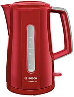 Чайник электрический BOSCH TWK3A014 /красный