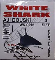 Крючок рыболовный / AJI DOUSKI / №3 / White Shark