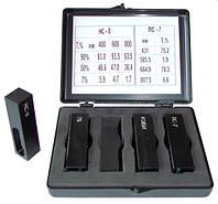 Набор контрольных светофильтров для поверки фотометров и спектрофотометров, ПС-7, НС-8, КУВИ