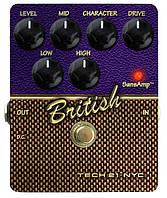 Tech21 British CSBR педаль для гитары, эффект - эмулятор Marshall JTM/Plex