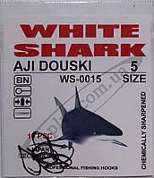 Крючок рыболовный / AJI DOUSKI / №5 / White Shark