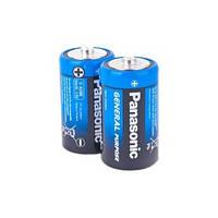 Батарейка Panasonic General Purpose D Zinc-Carbon, 2шт. (R20BER/2P)