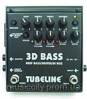 Tubeline 3-D Bass двойная педаль для бас- гитары, эффекты - Deep Bass/Drive/Di Box