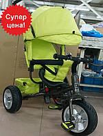Велосипед трехколесный TILLY Trike T-371 GREEN  на бескамерном колесе