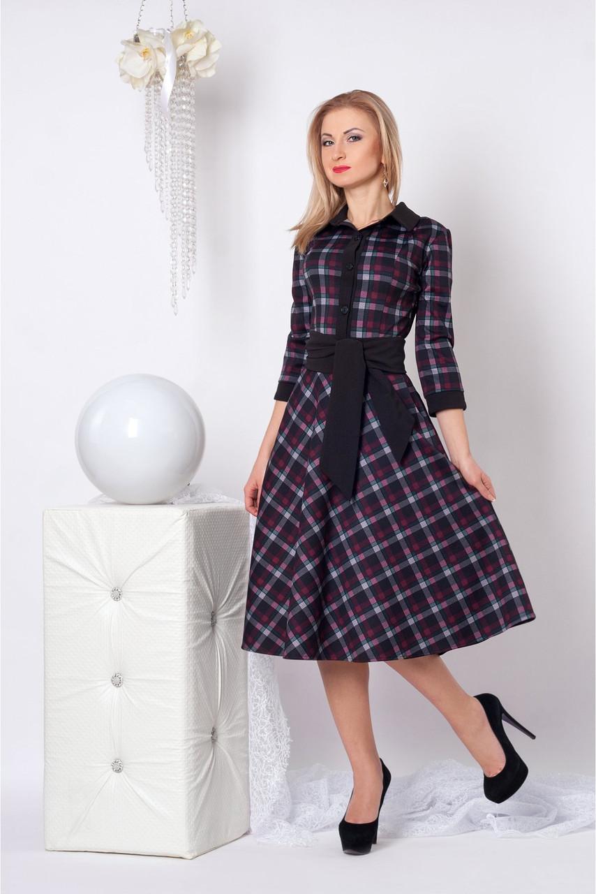 5b1364f0120 Купить Деловое платье № 964 в зелёную клетку в Хмельницком от ...