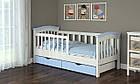 Кровать подростковая с бортиками Конфетти Baby Dream, фото 6