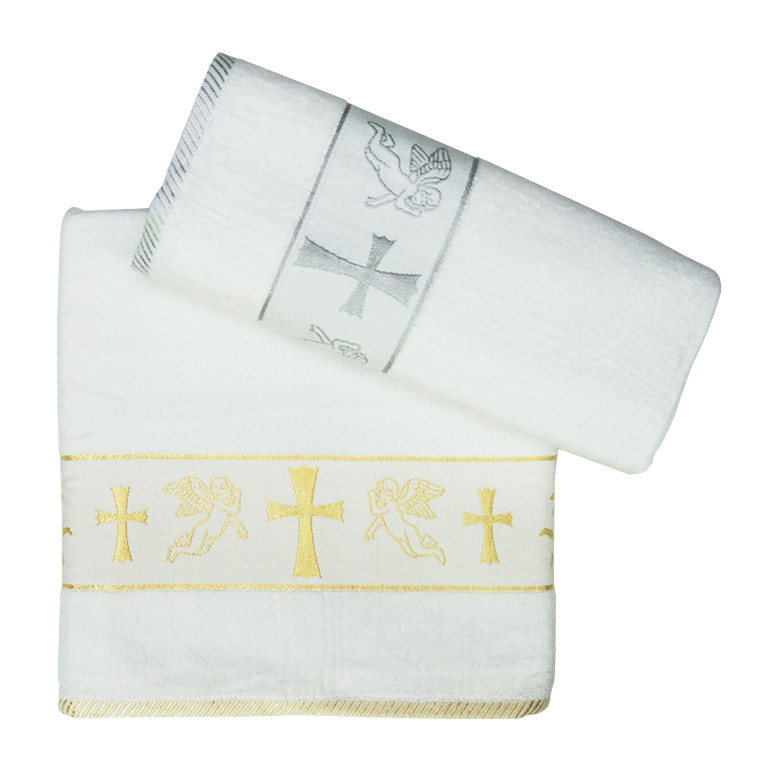 Крыжма для крещения с вышивкой 704