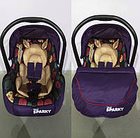 Автокресло TILLY Sparky T-511 PURPLE группа 0+