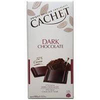 Шоколад Cachet (Кашет) черный 57% какао Бельгия 100г, фото 2