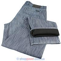Мужские зимние джинсы на флисе 42 размер Турция 0500С