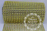 Шина золотая (лента с имитацией страз), 20 см в наборе