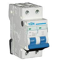 Автоматический выключатель ТДМ А60 2Р  16А  4,5кА, х-ка  С