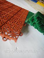 Модульное напольное  покрытие для бань и саун .