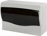 Корпус пластиковый 12-модульный e.plbox.stand.n.12, навесной, фото 1