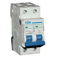 Автоматический выключатель ТДМ А60 2Р  50А  4,5кА, х-ка  С
