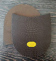Набойки формованные BISSELL арт. RB-61 цвет коричневый (желтый логотип)