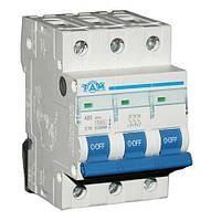 Автоматический выключатель ТДМ А60 3Р  16А  4,5кА, х-ка  С