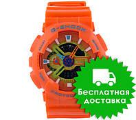 Часы Casio G-Shock GA-110 Оrange