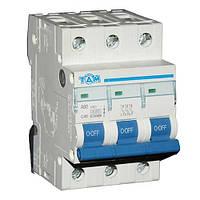 Автоматический выключатель ТДМ А60 3Р  40А  4,5кА, х-ка  С