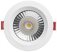 Встраиваемый светодиодный  LED светильник PLATOS DLR130F 12W