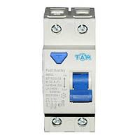 Дифференциальный выключатель УЗО ТДМ А60L  2Р, 32А, 30мА