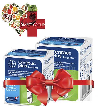 Тест-полоски Контур Плюс (Contour Plus) 50 шт 2 упаковки, фото 2