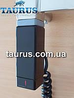 Чёрный ТЭН ONE квадратный 30x30: регулятор, с таймером, под пульт ДУ. Польша
