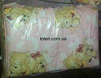 Комплект сменного постельного белья 8 в 1 Розовые мишки