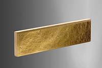 Цокольная плитка «Литос» (кирпич тонкий) колотая с фаской, ЖЕЛТЫЙ