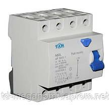 Дифференциальный выключатель УЗО ТДМ А60L  4Р, 50А, 100мА