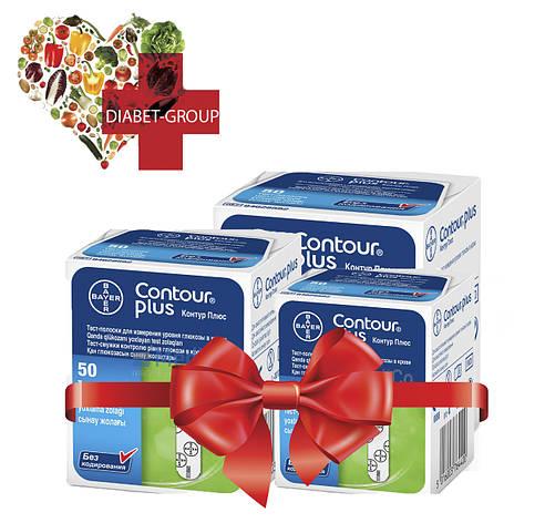 Тест-полоски Контур Плюс (Contour Plus) 50 шт 3 упаковки, фото 2